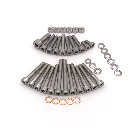 SIMSON S50 moteur M53/2 roue Vis à six pans creux en acier inoxydable 42 pièces