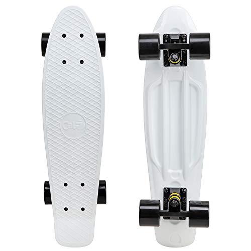 "Cal 7 22.5"" Complete Mini Cruiser Plastic Skateboard (Paragon)"