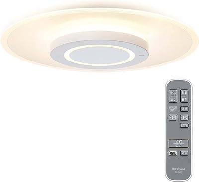 アイリスオーヤマ 導光板 シーリングライト 【5年保証】 LED インテリア 照明 おしゃれ ~12畳 5200lm 薄型パネル 明るさメモリー 高演色 省エネ おやすみタイマー 取付簡単 CEA-A12DLP