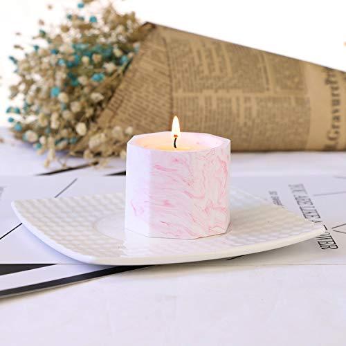 Aromatherapie Kaars Anijs Aromatherapie Kaars Diffuser Cup Kokosnoot Wax Soja Wax Romantiek Verjaardag 0 roze