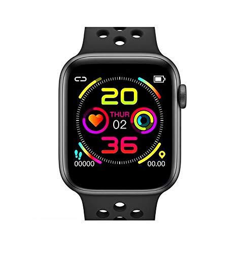 DOKI W5 de Reloj Inteligente Bluetooth Smartwatch con Pantalla Táctil con Frecuencia Cardíaca/Sleep/Presión De La Sangre (Negro)
