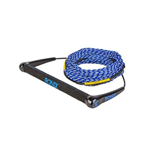 Ronix Combo 4.0 Hide Grip Wakeboard Handle w/75 ft. 5-Section Solin Rope - Asst. Color