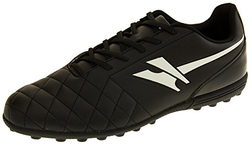 Gola Mens Ama666 Rey Vx Black and White Astroturf Football Boots UK 10