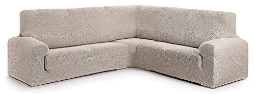 Funda para sofá rinconero Hecho de Tejido Adaptable Spongy tamaño Normal (hasta 450 cm) - Color 00