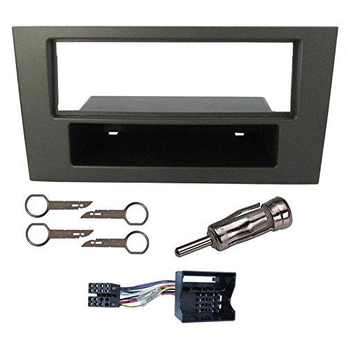 Sound-way 1 DIN Radiopaneel Frame Autoradio, Antenne Adapter, ISO Aansluitkabel, Demontage Sleutels ondersteuning voor Ford Mondeo
