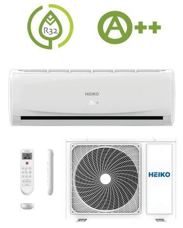 SPLIT DUO Klimaanlage R32 Wandgerät 2,6 kW SET WLAN WiFi Multi Klimagerät