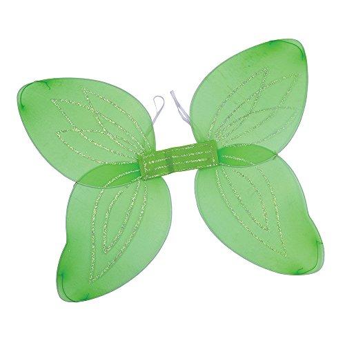 Bristol Novelty BA449Engels-Flügel für Erwachsene, Grün, Einheitsgröße