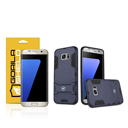 Kit Capa Armor e Película de Nano Gel dupla para Samsung Galaxy S7 Edge - Gorila Shield