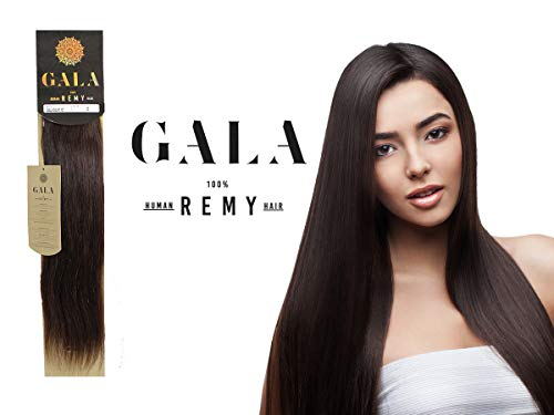 Extensiones Cabello 100% Natural Gala Remy 18plg Basicos (2)