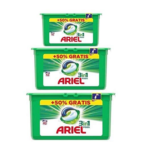Ariel Detergente Tabs Verde 3 En 1 43 Unidades