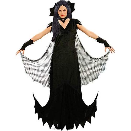 Ciao- Costume Adulto Mortissia tg. M Donna, Nero, M, 16160.M