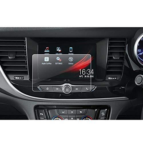 RelaxToday Auto GPS Multimedia Navigation Display Bildschirmschutzfolie Für Opel Mokka X 2016-2018 Schutzfolie aus gehärtetem Glas