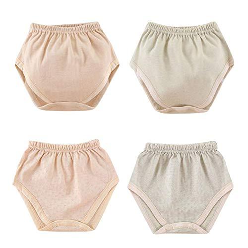 Tancurry Tancurry 4Set Soft Weich Baumwolle Windel Unterhose für Neugeborene Säugling Baby