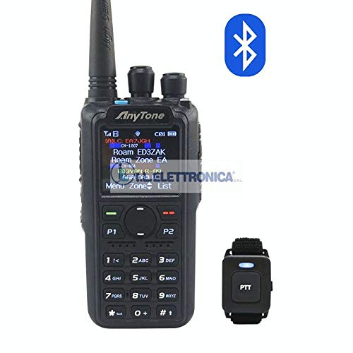 Anytone AT-D878UV Plus Bluetooth Radio Dualband DMR/FM con VFO & Roaming 84009
