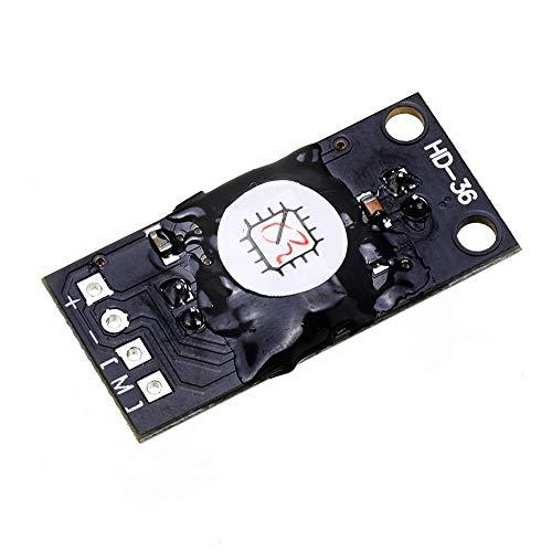 Módulo electrónico Fuente de luz solar Seguimiento PCB Junta ligero automático Rastreador Buscando Módulo de trazado de rayos DC 5-5.5V Equipo electrónico de alta precisión