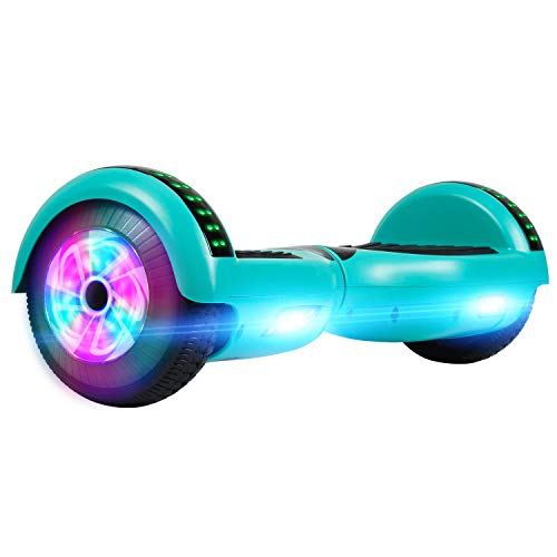 """Chic Hoverboard 6.5"""" Self-Balancing Scooter with UL2272 and LED Light for Kids-4"""