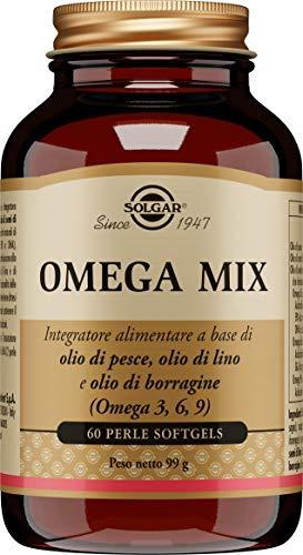 Solgar Omega 3-6-9 Cápsulas blandas- Envase de 60