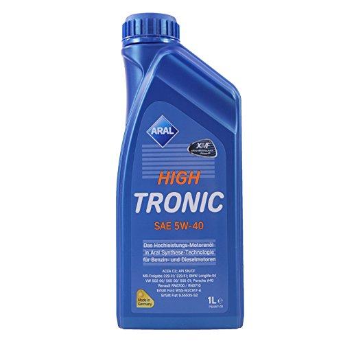 1 L Liter ARAL HighTronic 5W-40 Motoröl