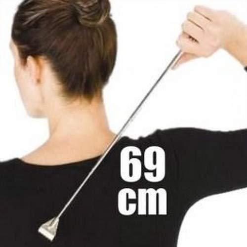 ootb Extendable Metal Back Scratcher, Ca. 69 cm, Black, Adults