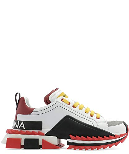 Luxury Fashion | Dolce E Gabbana Uomo CS1649AZ69289926 Bianco Sneakers |