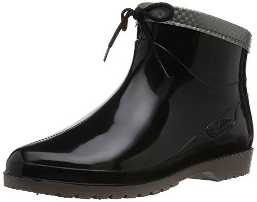 [アキレス] レインブーツ 長靴 作業靴 レインシューズ 日本製 E レディース OLB 0340 黒 24.5
