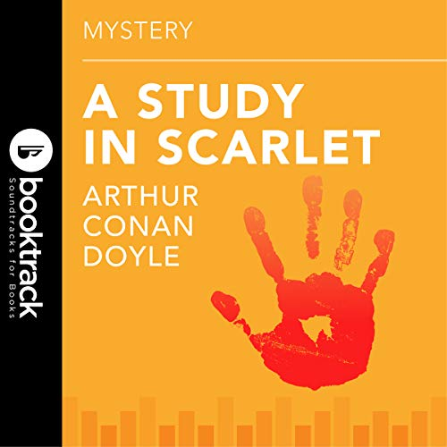 Study in Scarlet audiobook cover art
