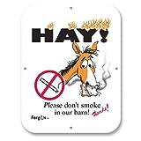 Fergus Stall/Barn Sign Dont Smoke