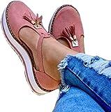 LCCYJ Sandalo per Le Donne incunea Sandali Alti Talloni delle Donne Punta Chiusa Scarpe con Fibbia Fondo Spesso Baotou Nappa Buckle Sandali Strap,03,39