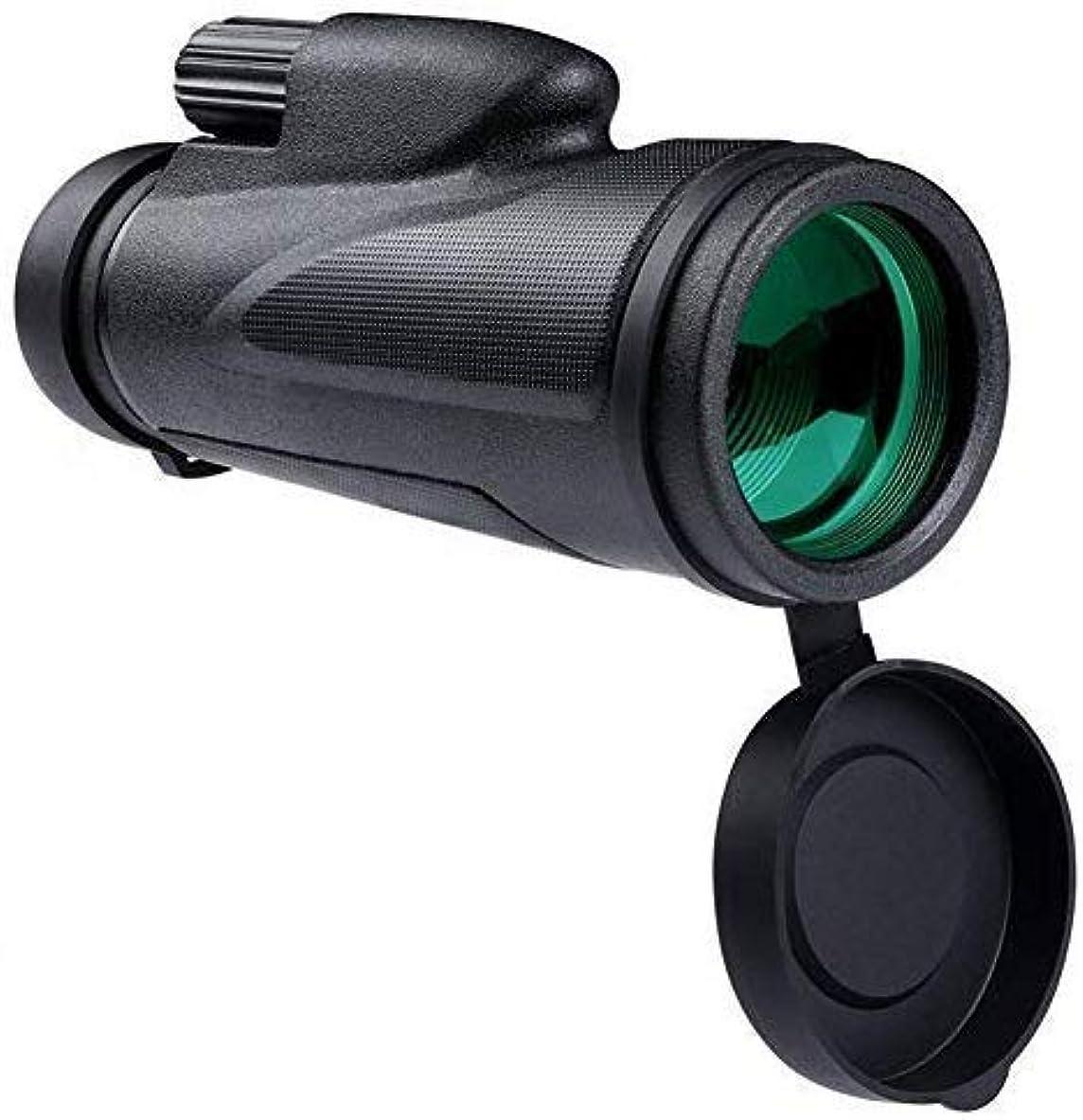 望む過言わかりやすい10X単眼鏡望遠鏡スマートフォンアダプターと三脚防水防曇野生動物ウォッチング鳥コンサート