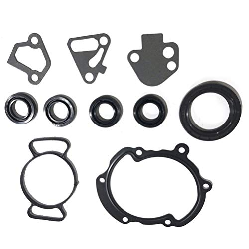 ECCPP Engine Replacement Timing Cover Gasket Compatible with 2008 2009 for Cadillac STS 4-Door 3.6L Platinum Sedan
