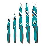 sportsvault NFL Miami Dolphins Kitchen Knives