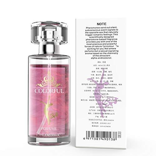 Gychee Sex Parfüm Pheromon parfümiertes, Aphrodisiakum für Männer Körper-Spray-Flirt-Parfüm ziehen Frauen duftendes Wasser an