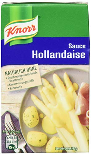 Knorr Sauce Hollandaise 250ml, 4er Pack (4 x 250 ml)