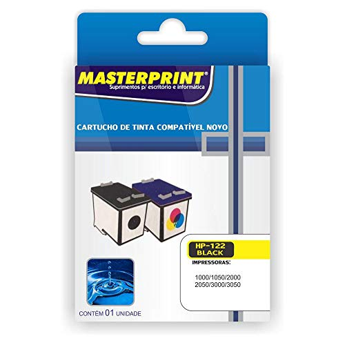 Cartucho Compatível HP 122 XL Color Masterprint 13ml