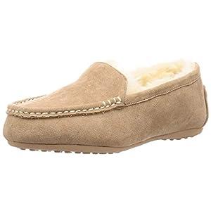 [オリエンタルトラフィック] Amazon限定カラー フラット モカシン レディース ファー ムートン 雪 冬 暖かい スリッポン 靴 シューズ パンプス ボア 大きいサイズ 小さいサイズ 8717/9707