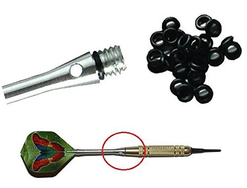 1 x Dart Gummiringe für optimalen Halt der Schäfte für Alu Shaft Dartpfeile Soft Steel