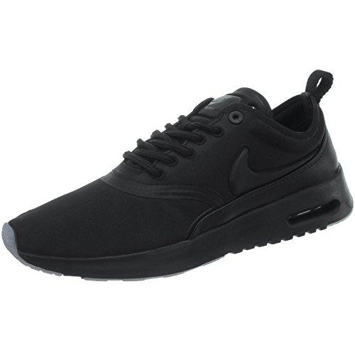Nike Women's Air Max WMNS Thea Premium 848279-005 Trainers, Multicoloured (Black 001), 4 UK