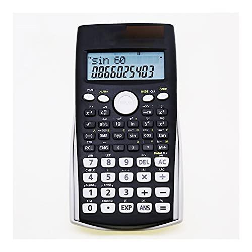 ZHANGCHI Affichage de 12 Chiffres Affichage Haute définition High School University Examen Office Office dédié Calculatrice Scientifique
