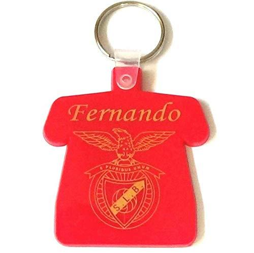 patrickgravure Porte clefs bakélite gravé personnalisé Maillot Portugal Rouge