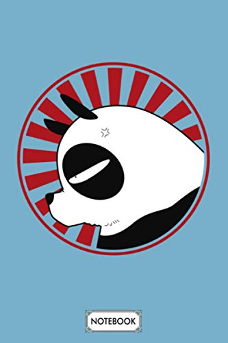 Panda Ranma 12 Notebook: 6x9 120 Pages,...