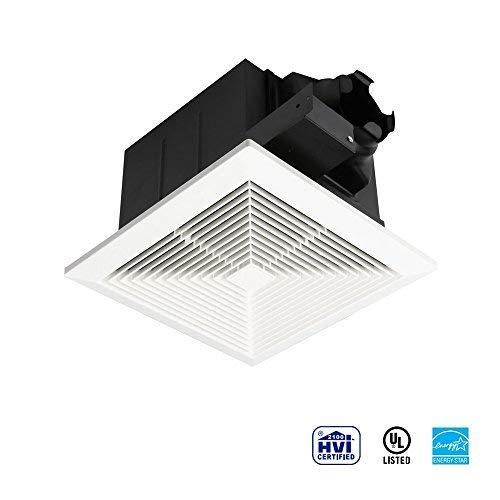 Ultra Quiet Ventilation Fan Bathroom Exhaust Fan (70CFM/0.3Sone) with 4 Inch Duct Size