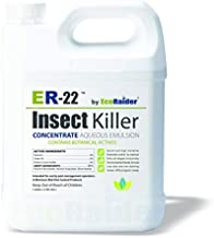 ER-22 by EcoRaider Professional Grade Insect Killer Concentrate 1 GL, for Bed Bugs, 100% Efficacy, Extended Residual, Green and Non-Toxic
