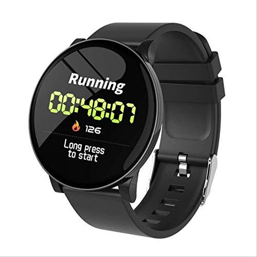 Mannen Hartslagmeter Smartwatch Weersvoorspelling Fitnessarmband Bloedzuurstofdruk Sport Smart Band