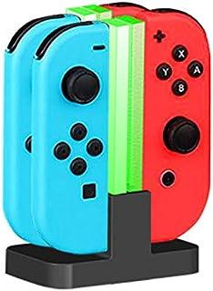 TwiHill ChargePlay Quad - Carregador para Joy-Con-Nintendo Switch