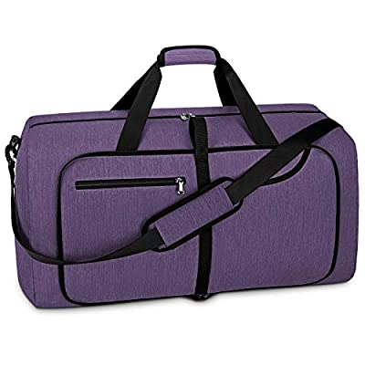 Travel Duffel Bag Foldable Weekender Overnight Bags