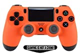 Best Modded Controllers - Smart Soft Touch Orange Ps4 PS4 PRO Rapid Review