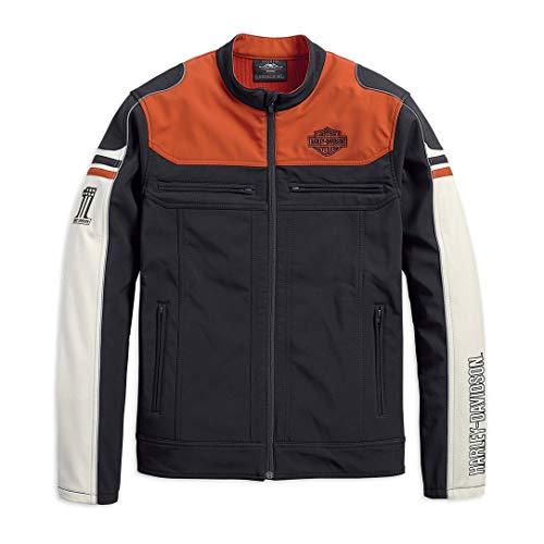 HARLEY-DAVIDSON® Men's Colorblock Soft Shell Jacket - 98405-19VM