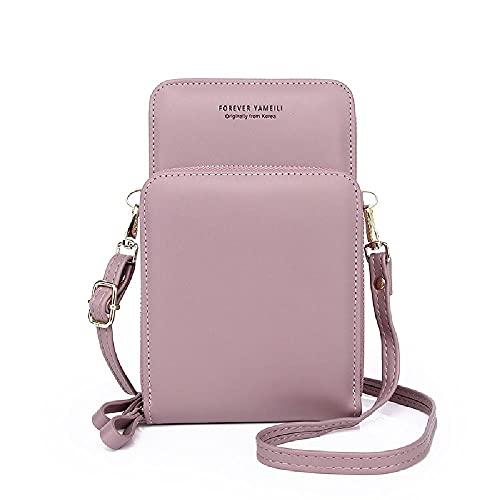 Bolso cruzado de la manera versátil coreano del teléfono móvil del bolso multi función de la gran capacidad del bolso de hombro