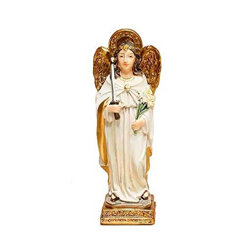 Trofeos Cadenas Arcángel San Uriel Figura Religiosa, en Resina, 11 cm