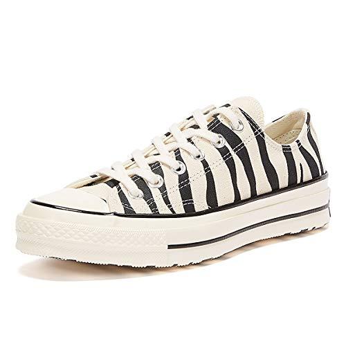Converse Chuck 70 Archive Zebra Ox Sneakers Nero/Bianche da Donna-UK 4 / EU 36.5